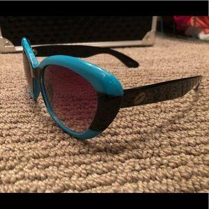 Betsy Johnson blue sunglasses